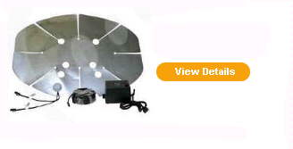 Satellite Heater & De-Ice Systems - Dish Heaters
